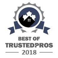 logo trustedpros best of 2018 burlington