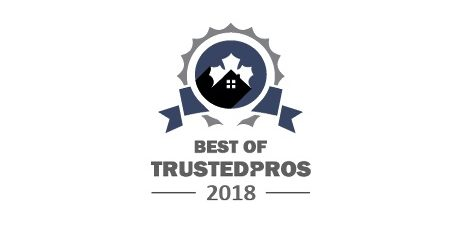 TrustedPros Badge Best of Burlington Pros