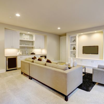 basement renovation in Oakville Ontario