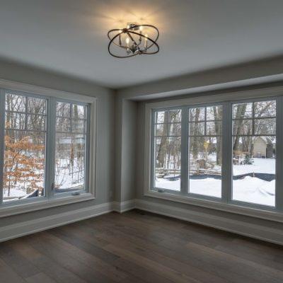 beautoful windows -music room renovation