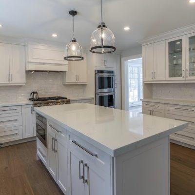 sidesplit house, kitchen remodel