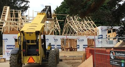 raising the roof on second stroy home addition in oakville