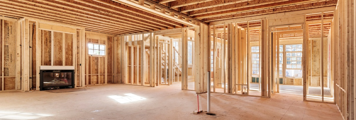 structural framing in Oakville, Burlington