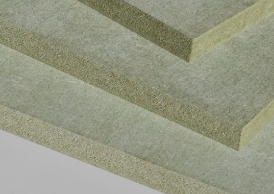 Moisture proof MDF uses a different non water soluble glue which makes it appear green.
