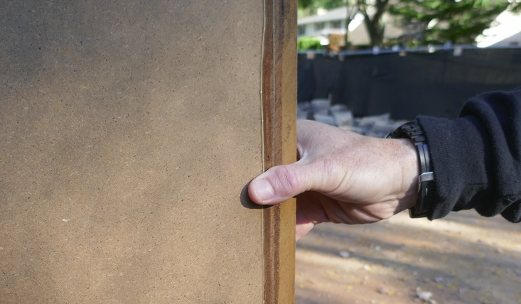 Working with moisture proof MDF means using non water soluble, aliphatic Carpenter's glue