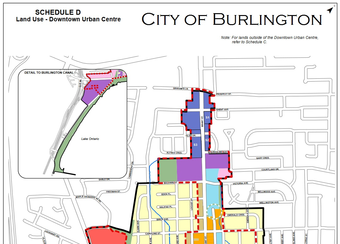 City of Burlington future land development