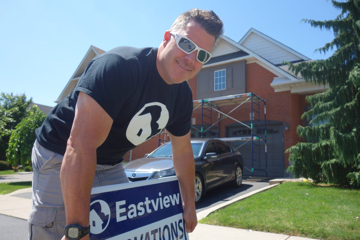 Keith Travers, Eastview Homes, window replacement service