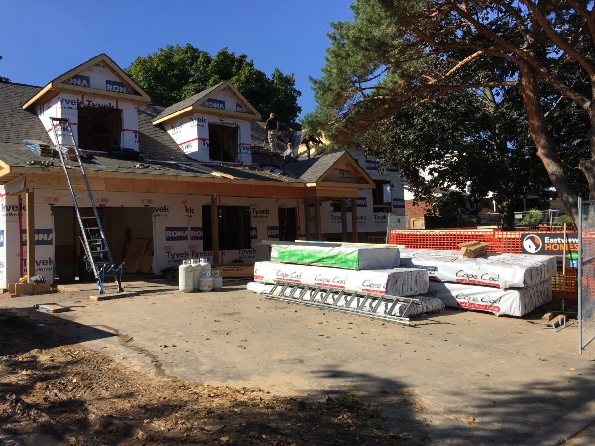 home insulation R value new addition above garage, remaking Burlington side split home